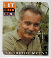 Georges Brassens Hit Box 3CD - Georges Brassens