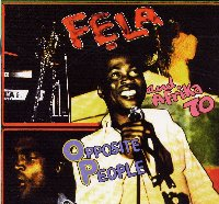 Fela Anikulapo Kuti Opposite People-Sorrow Tears and Blood
